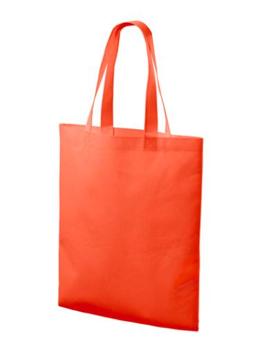 Oranžová textilná taška